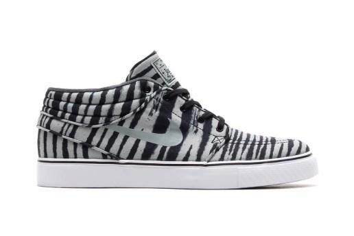 "Nike SB Zoom Stefan Janoski Mid PRM ""Zebra"" Pack"