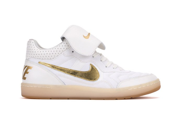 Nike Tiempo '94 Mid Ivory/Gold & Black/Gold