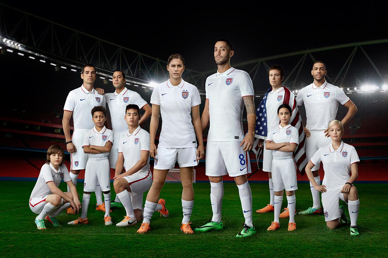 nike unveils 2014 u s soccer kit