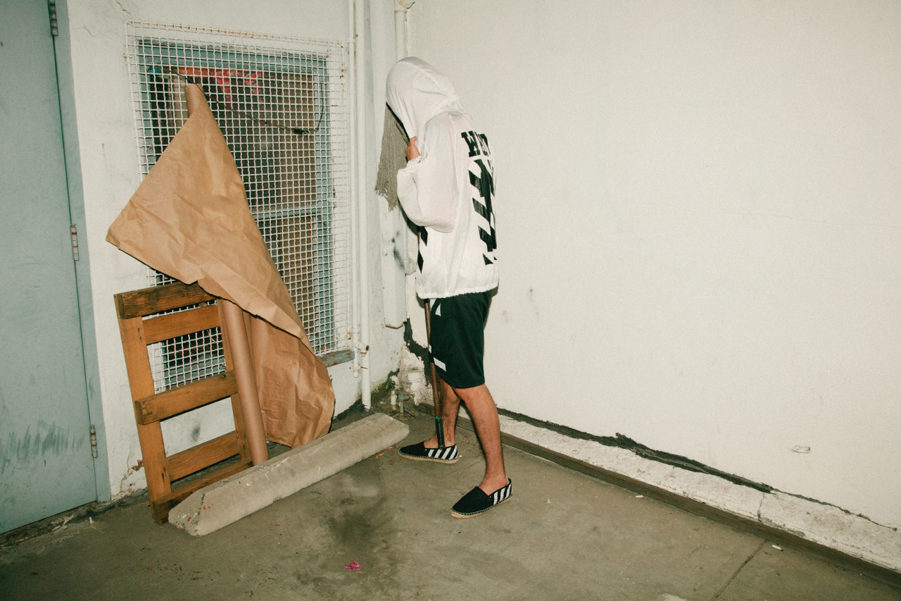 "OFF-WHITE c/o VIRGIL ABLOH 2014 Spring/Summer ""OFF WHITE OFF WHITE OFF WHITE"" Editorial by Union"