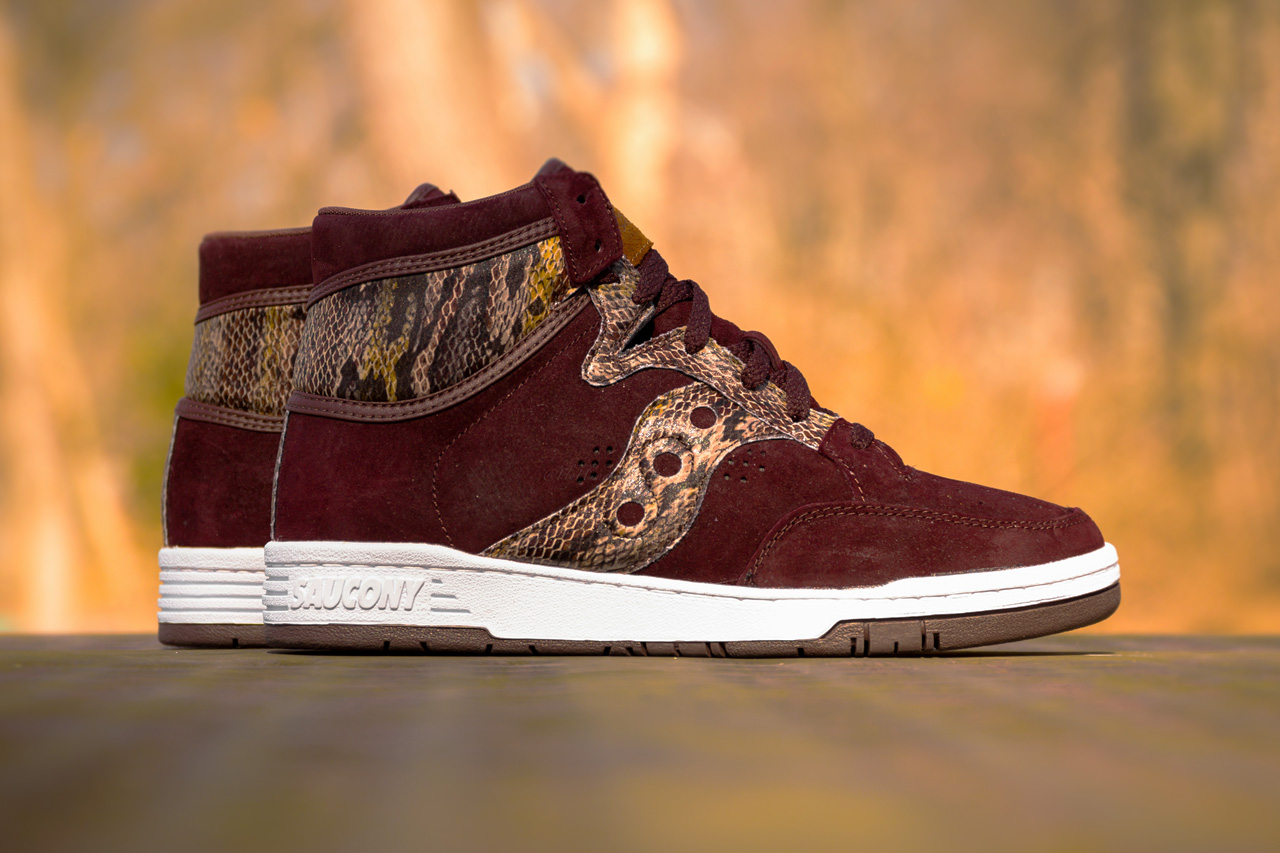 "Packer Shoes x Saucony Hangtime ""Brown Snake"""