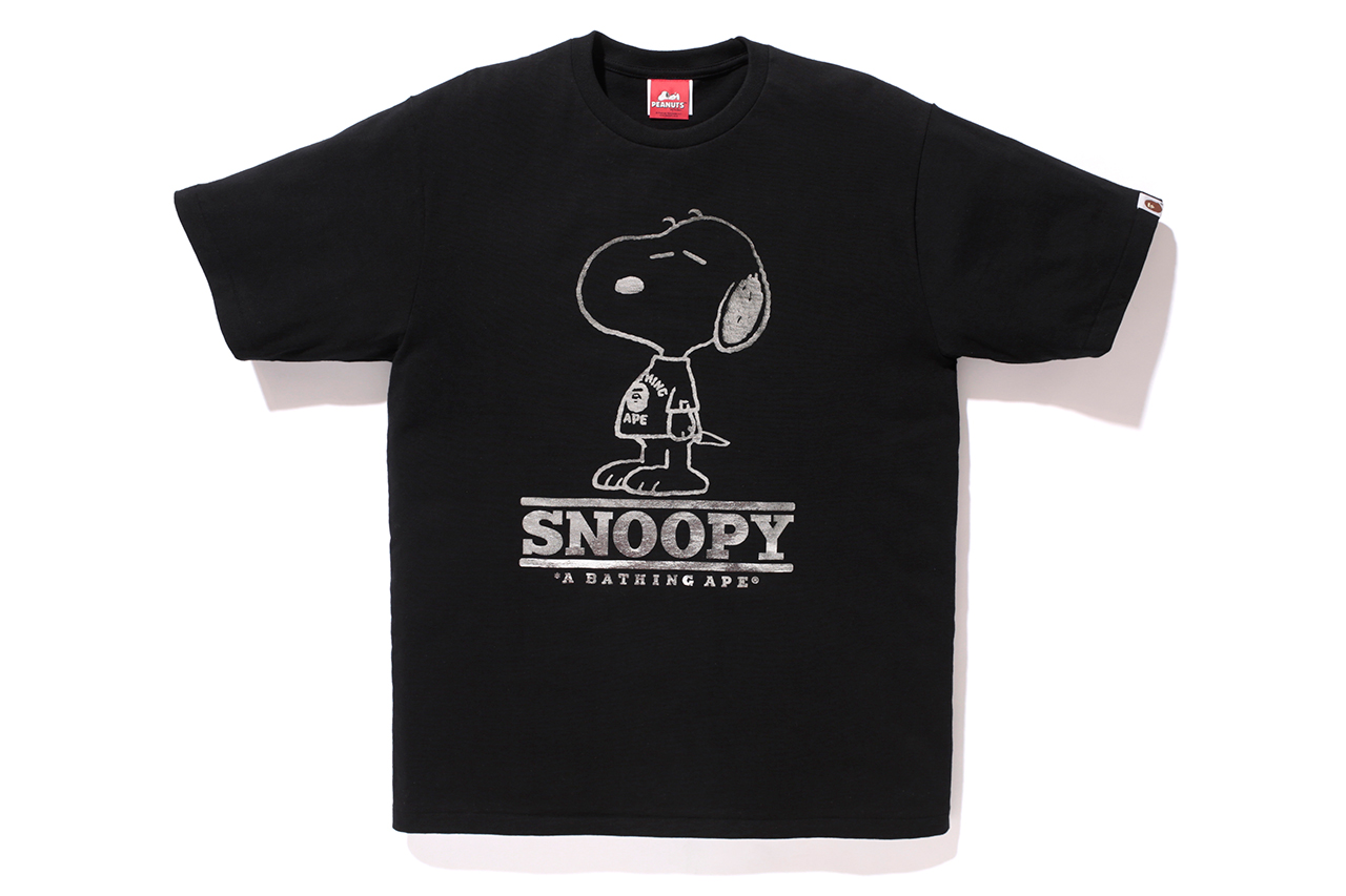 peanuts x a bathing ape 2014 capsule collection