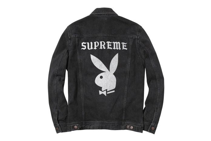 Playboy x Supreme 2014 Spring/Summer Denim Jacket
