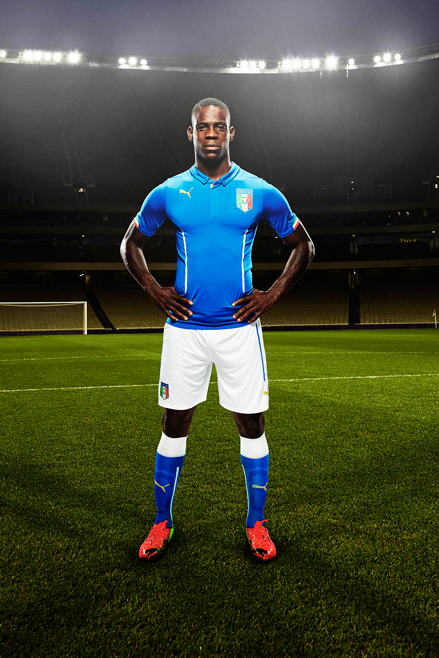 puma unveils new kits for the italian national team