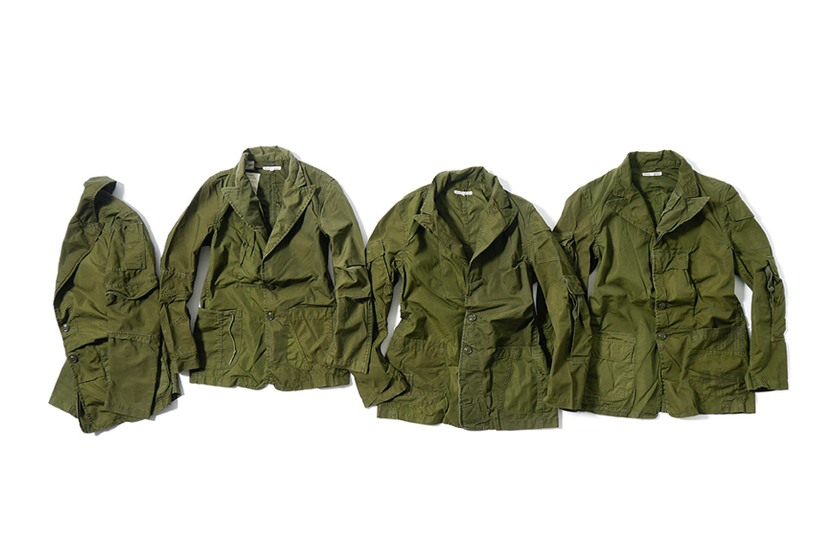 rebuild by needles 2014 spring summer outerwear flannels
