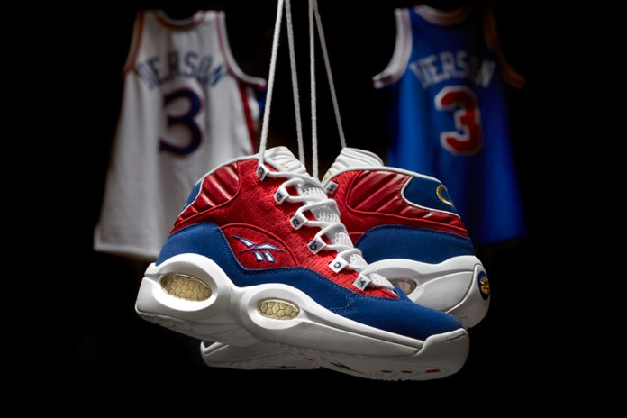 """Reebok Classic Question Mid """"Banner"""" in Honor of Allen Iverson's Jersey Retirement"""