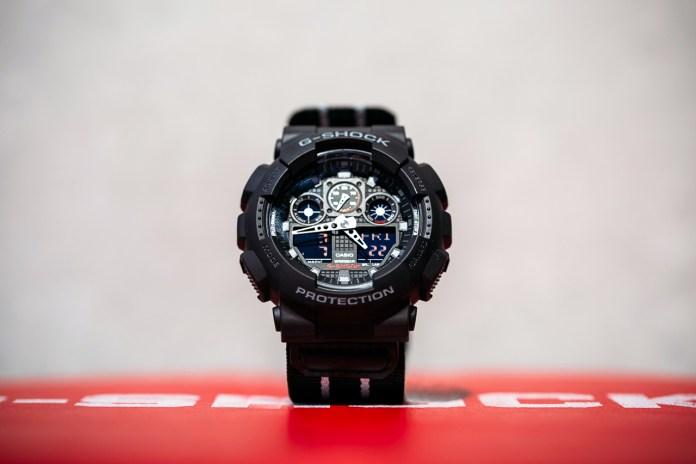 Remix x Casio G-Shock GA-100