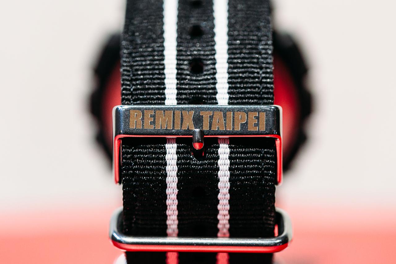 Remix x Casio G-Shock GA-100