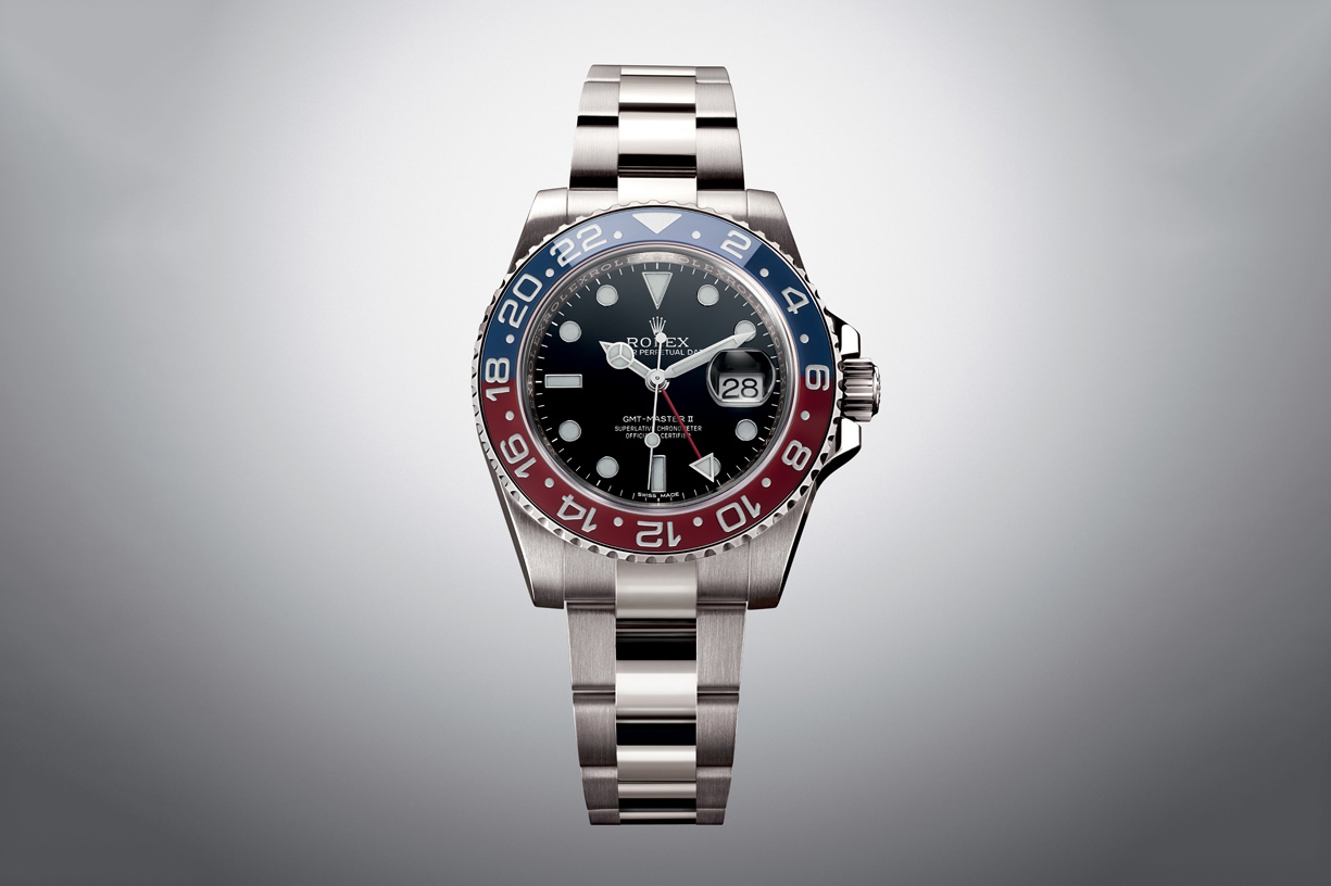 Rolex 2014 GMT-Master II in White Gold