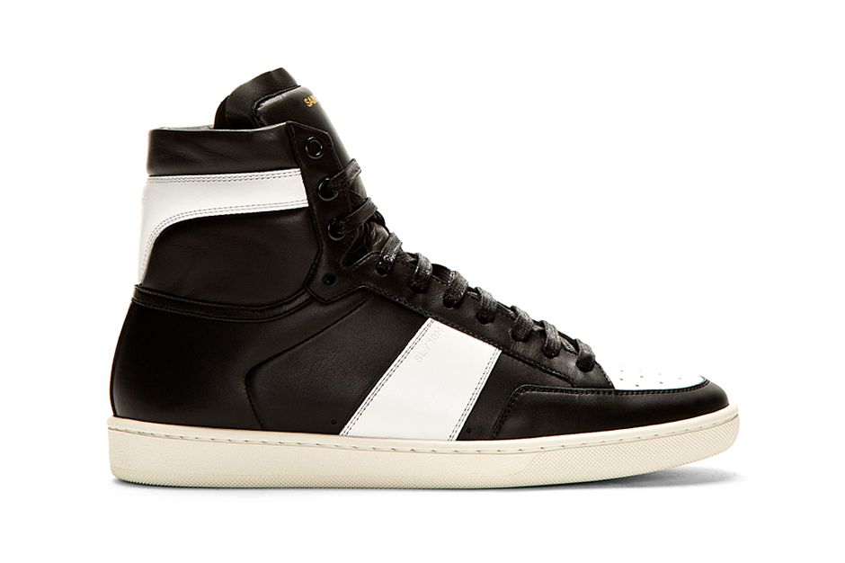 Saint Laurent SL/10H Court Classic Sneaker Black/White