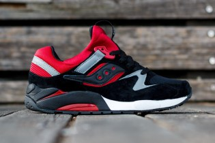 Saucony Grid 9000 Black/Red