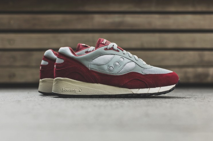 A Closer Look at the Saucony Shadow 6000 Grey/Red