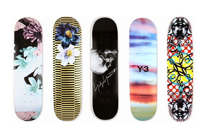 selfridges board games features custom skate decks by some of fashions greats