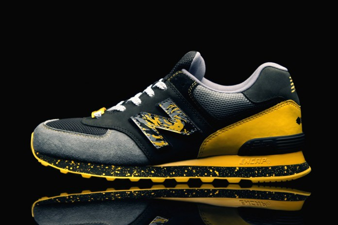 "Shelflife x Dr.Z x New Balance 574 ""City of Gold"""