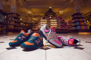 size? x New Balance Made in USA 574 Harrods Exclusive Pack