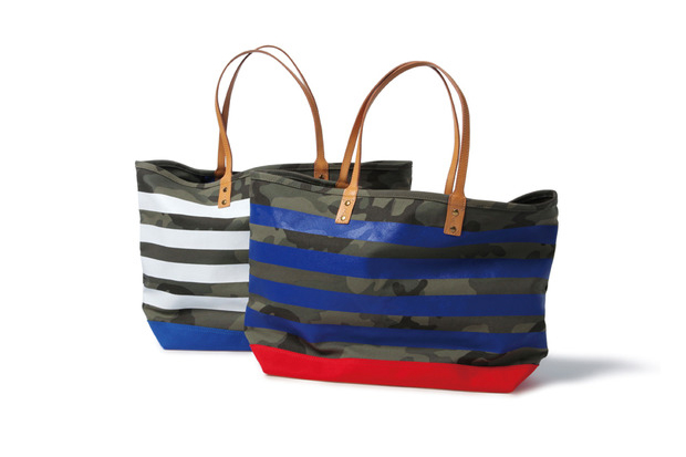 SOPHNET. Camouflage Border Tote