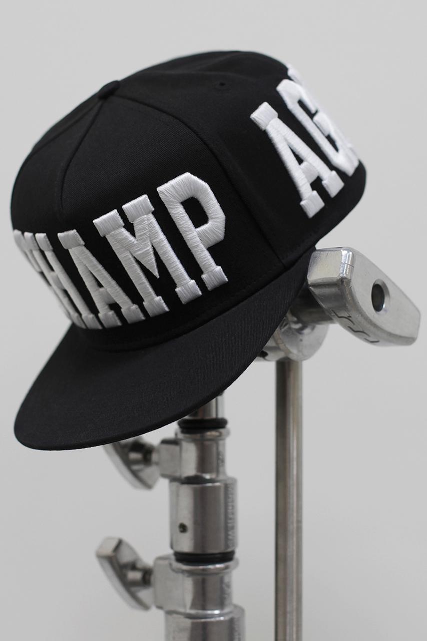 stampd 2014 spring summer black champagne cap