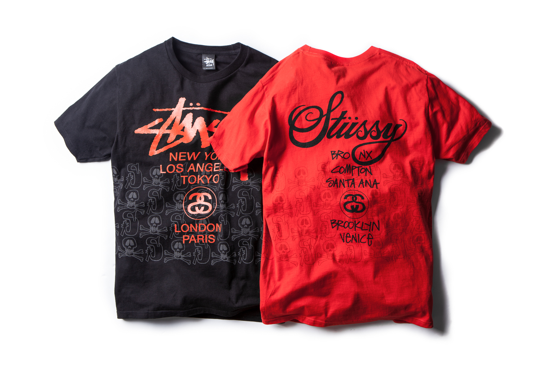 stussy 2014 spring summer skulls tee collection