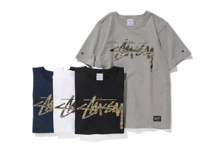 "Stussy x Champion Japan 2014 Spring/Summer ""Reverse Weave"" Collection"
