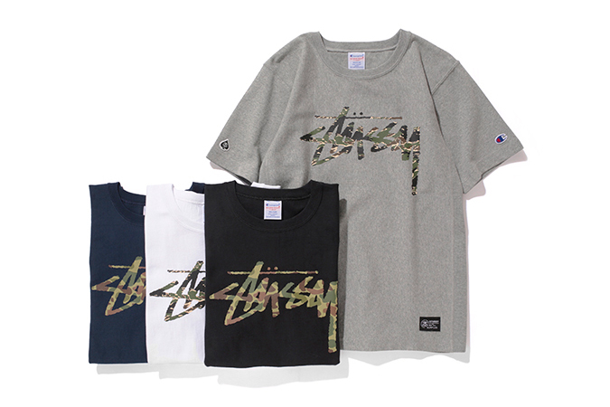 stussy x champion japan 2014 spring summer reverse weave collection