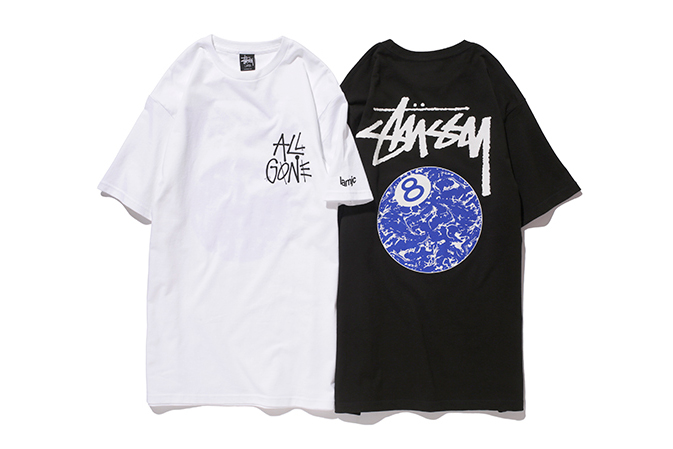 "Stussy x La MJC ""All Gone 8Ball"" T-Shirt"