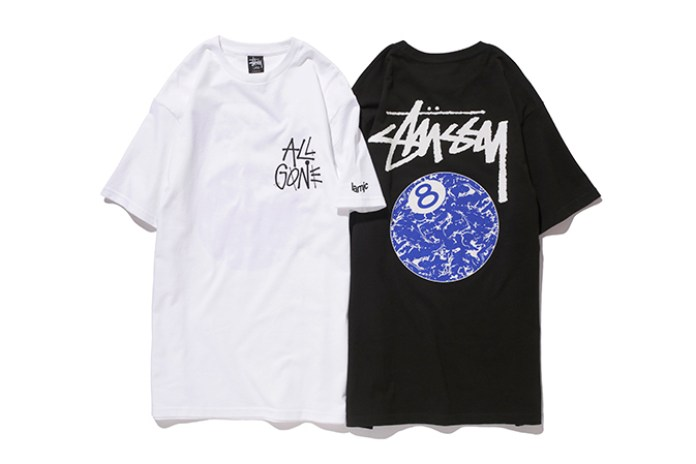"Stussy x La MJC ""All Gone 8Ball"" T-Shirt"