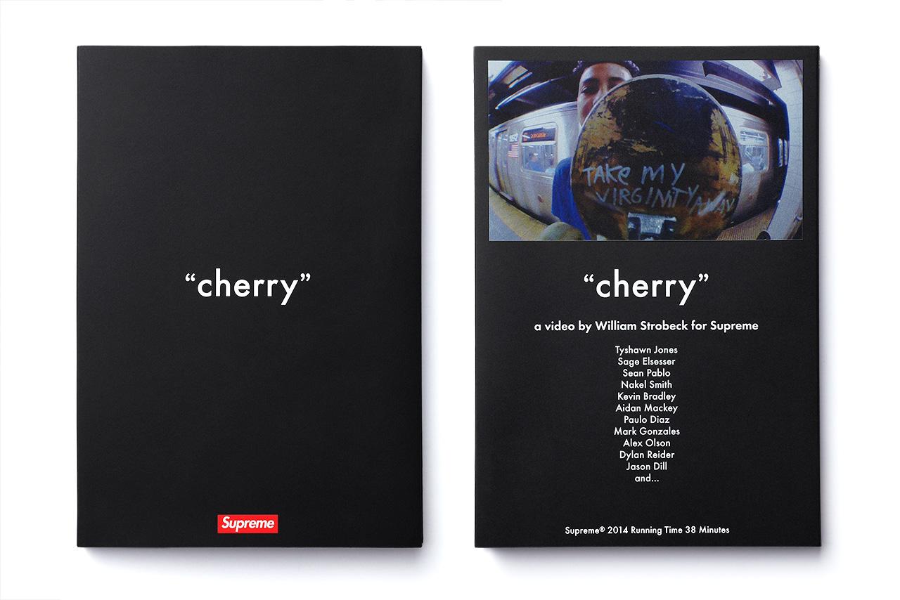 """Supreme """"cherry"""" Full-Length Skate Video Pack"""