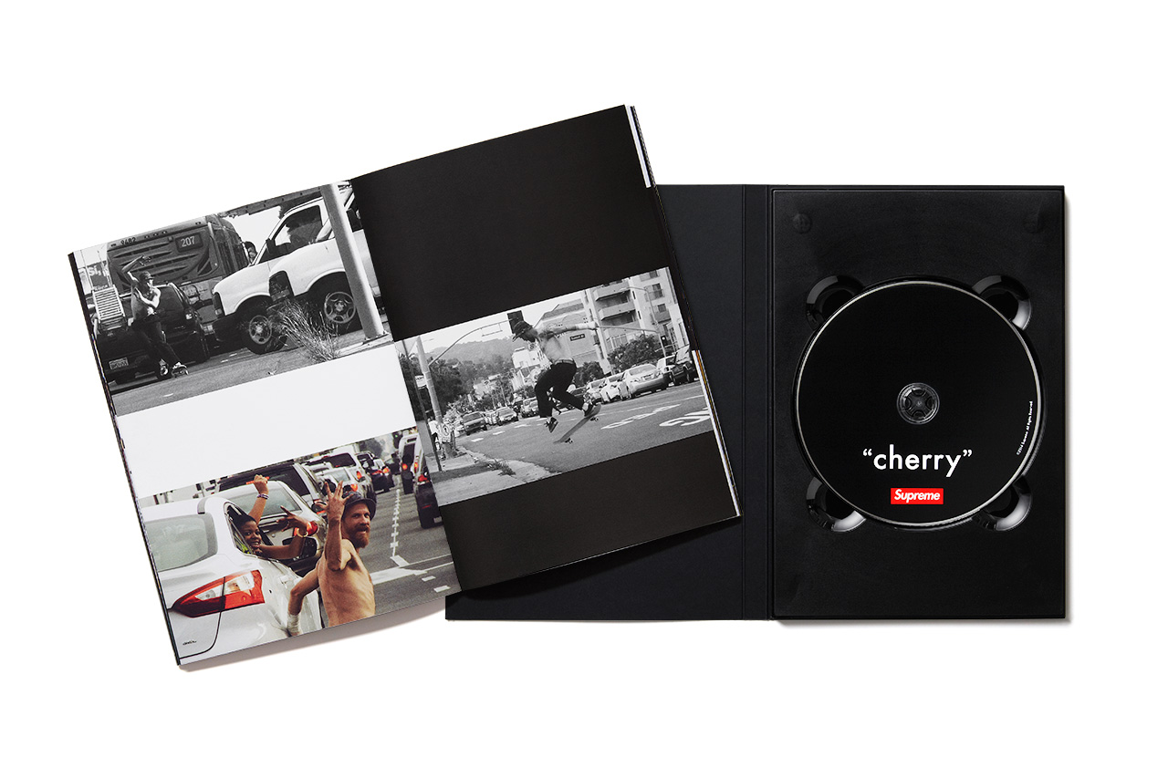 "Supreme ""cherry"" Full-Length Skate Video Pack"
