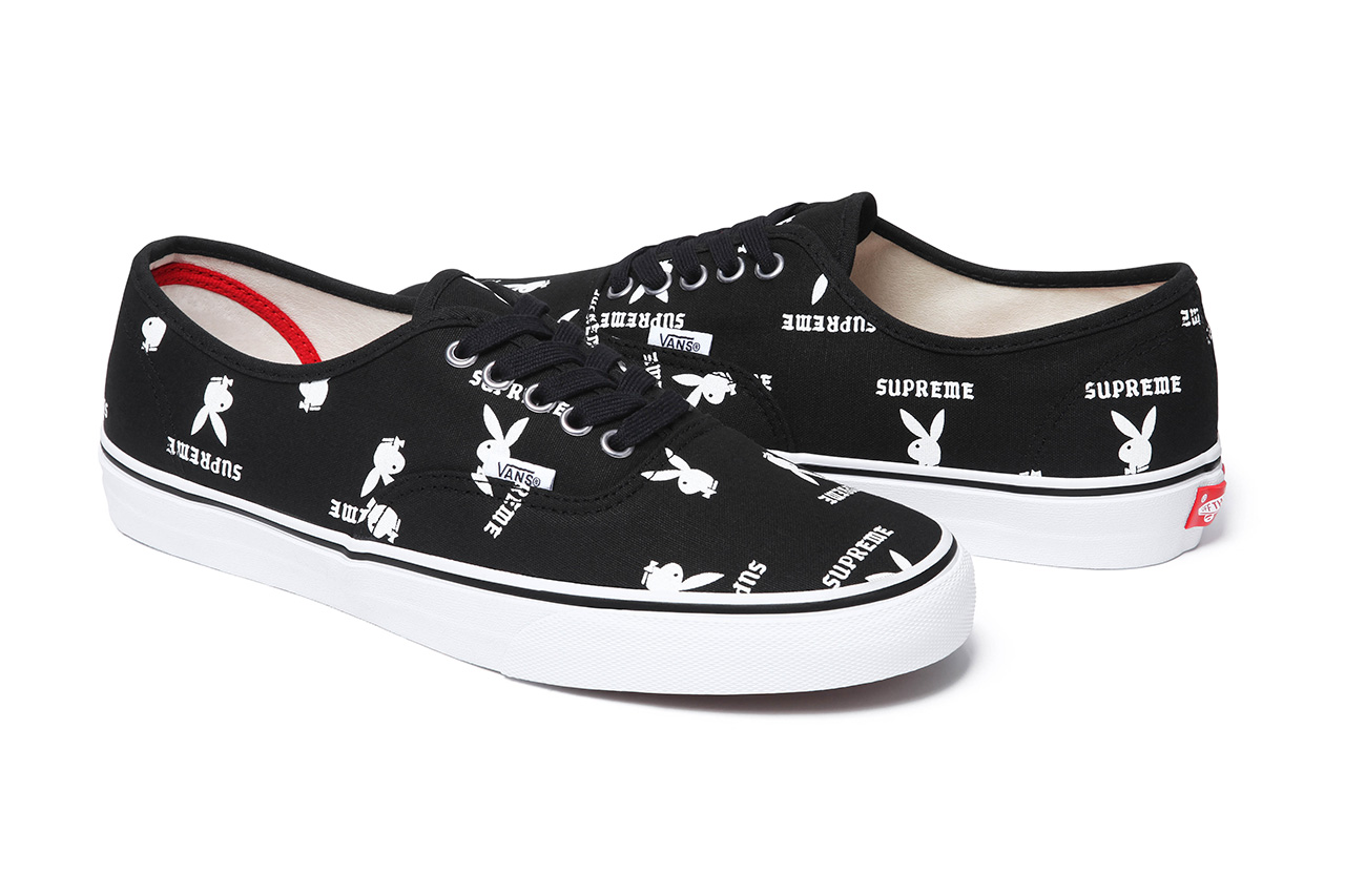 Supreme x Playboy x Vans 2014 Spring/Summer Footwear Collection
