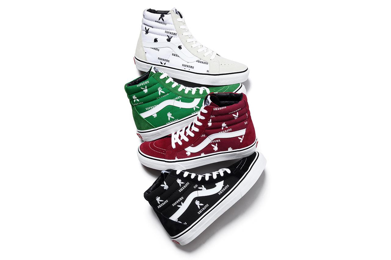 Supreme x Playboy x Vans 2014 Spring/Summer Footwear Collection