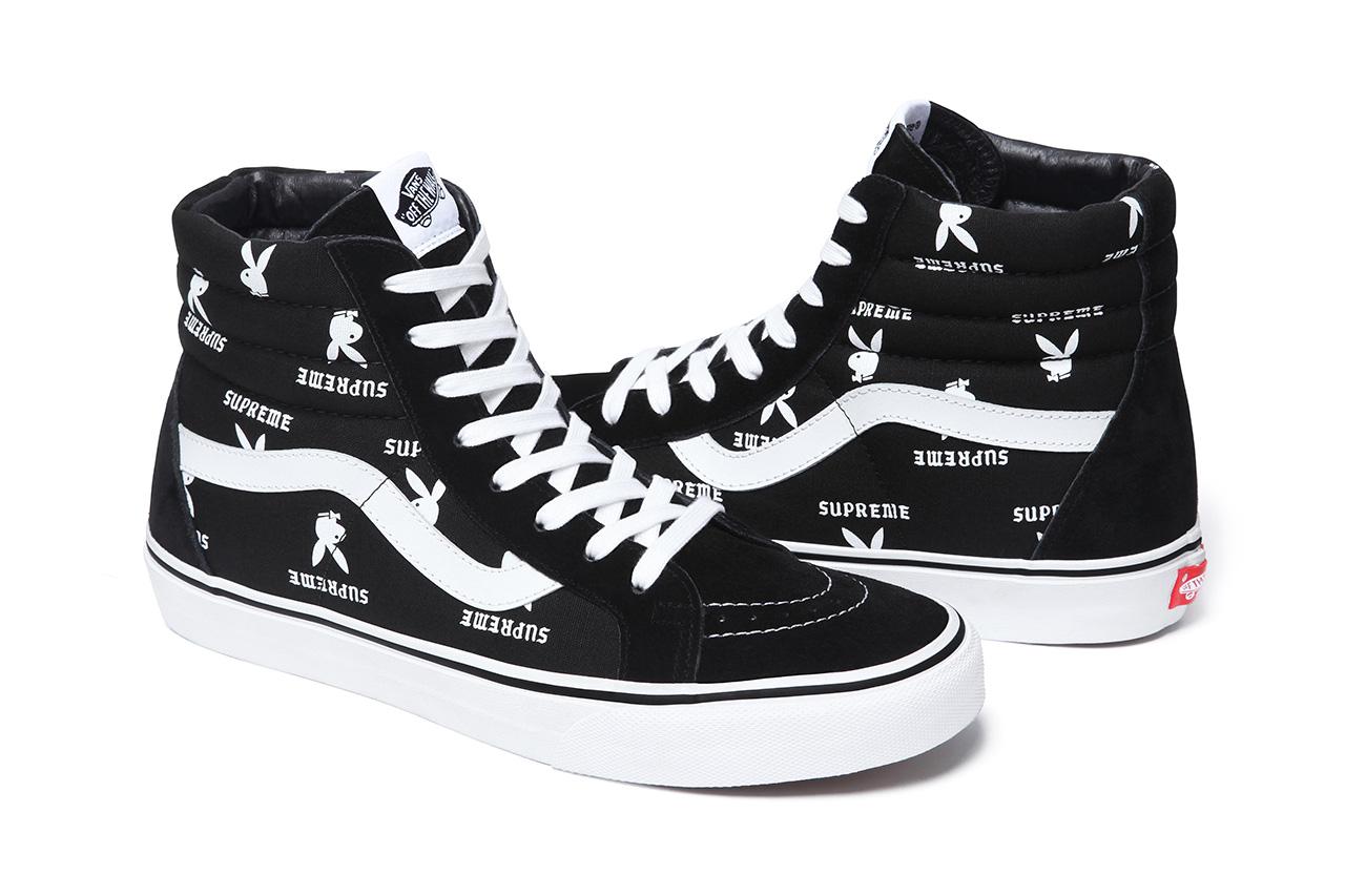 Supreme X Playboy X Vans 2014 Spring Summer Footwear