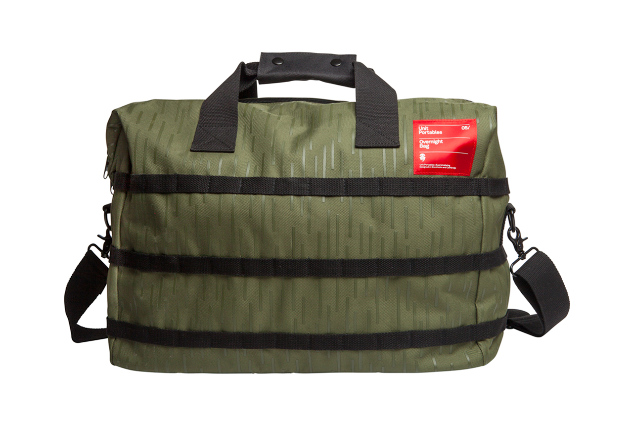 Supremebeing x Unit Portables 2014 Spring/Summer Bag Collection