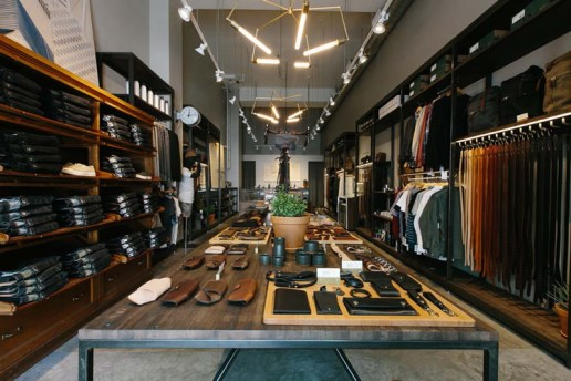 Tanner Goods Opens Shop in Downtown Los Angeles