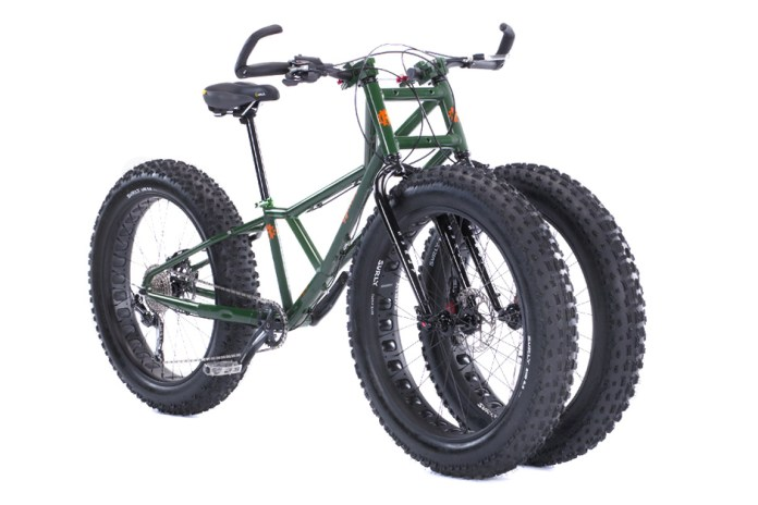 The Adult Big Wheel: Rungu's Juggernaut Bike