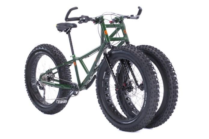 The Adult Big Wheel: Rungu's Juggernaut Bike