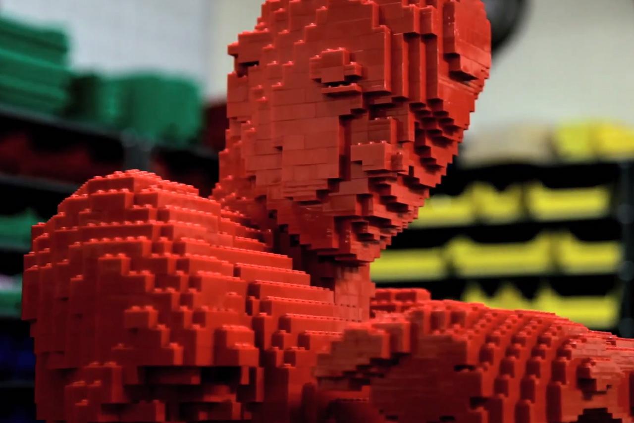 The Hundreds Checks Out LEGO Artist Nathan Sawaya and His LA Studio