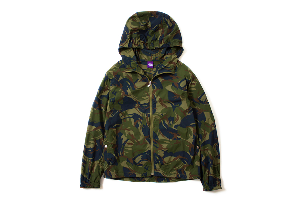 "THE NORTH FACE PURPLE LABEL 2014 Spring/Summer ""Camouflage"" Collection"