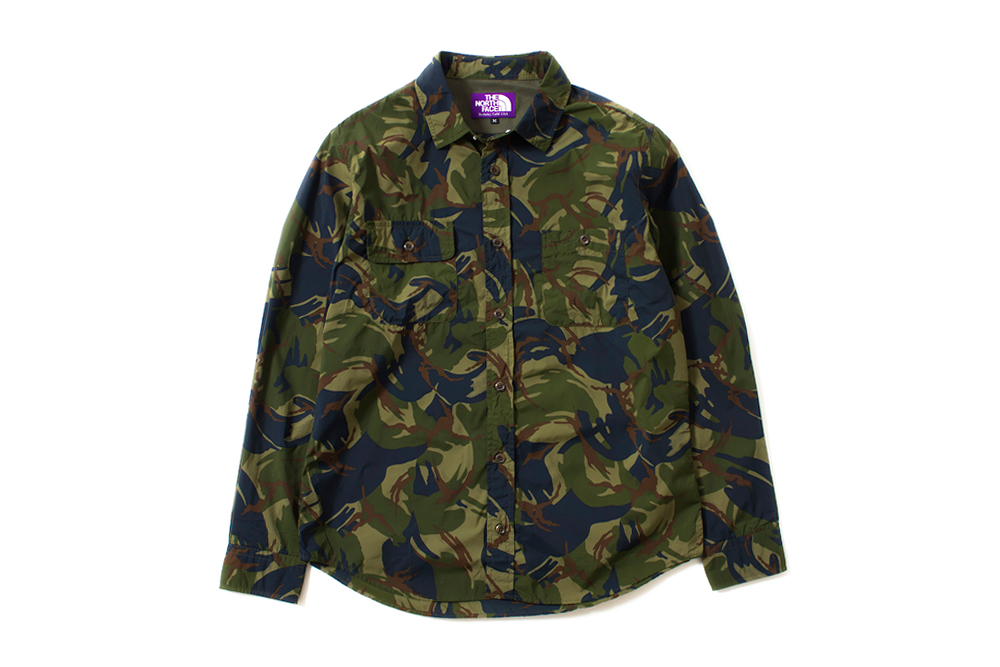 the north face purple label 2014 spring summer camouflage collection
