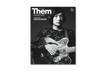 Them Magazine Launches Issue #1 with Hedi Slimane
