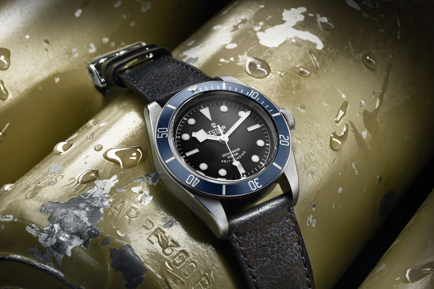 Tudor Debuts Heritage Black Bay in Midnight Blue