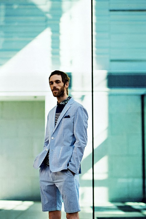 uniform experiment 2014 Spring/Summer Editorial by GRIND