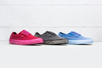 """Vans California 2014 Spring Authentic """"Over Washed"""" Pack"""