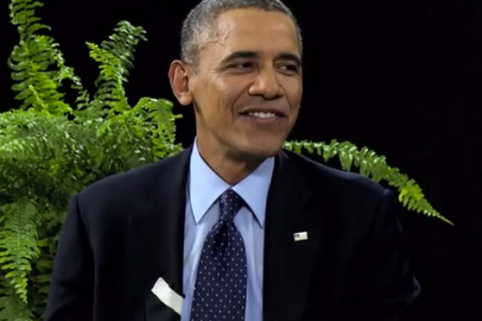 Watch President Obama on Zach Galifianakis' 'Between Two Ferns'