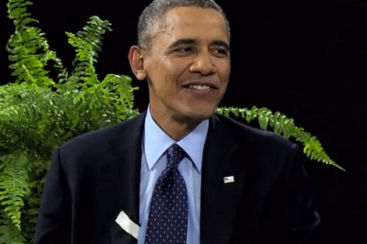Watch President Obama on Zach Galifianakis' 'Between Two Ferns'