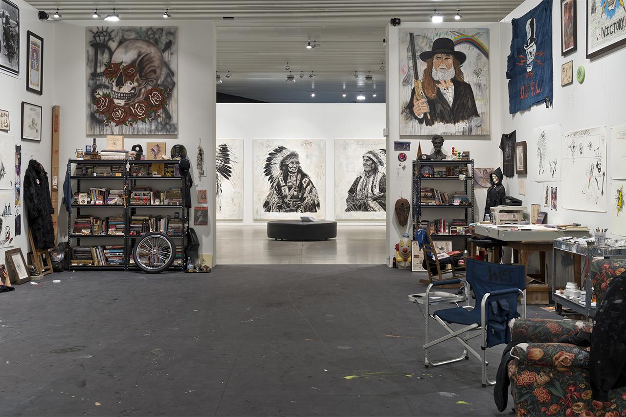 "Wes Lang ""The Studio"" @ ARoS Museum"