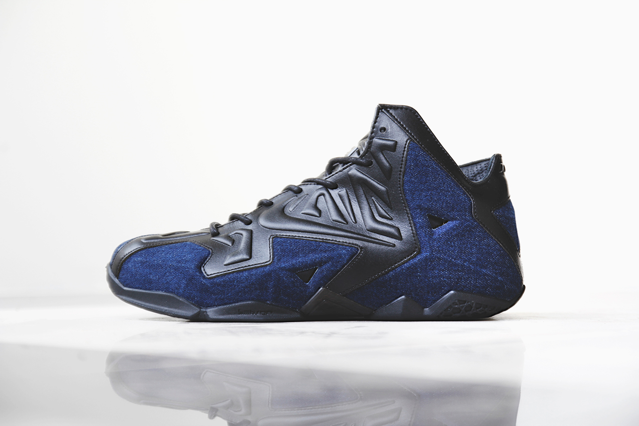 "A Closer Look at the Nike LeBron 11 EXT ""Denim"""
