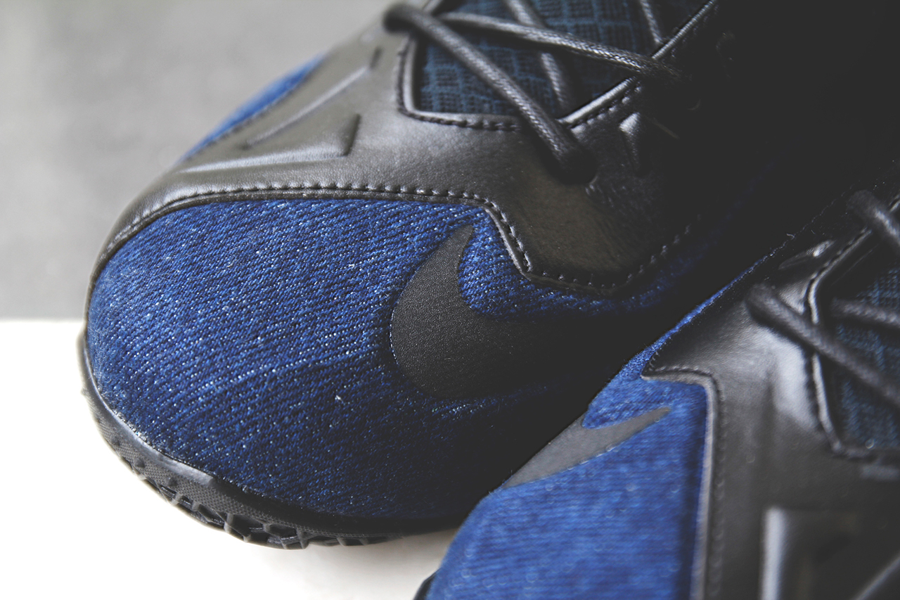 a closer look at the nike lebron 11 ext denim