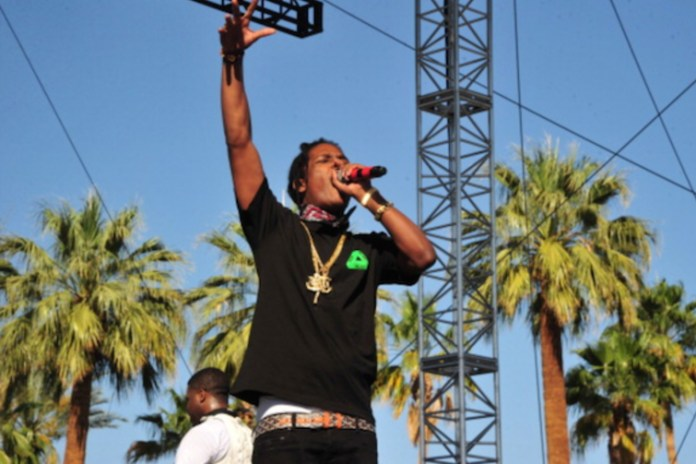 A$AP Rocky Debuts New Song & Fires Shots at Been Trill During A$AP Ferg's Coachella 2014 Set
