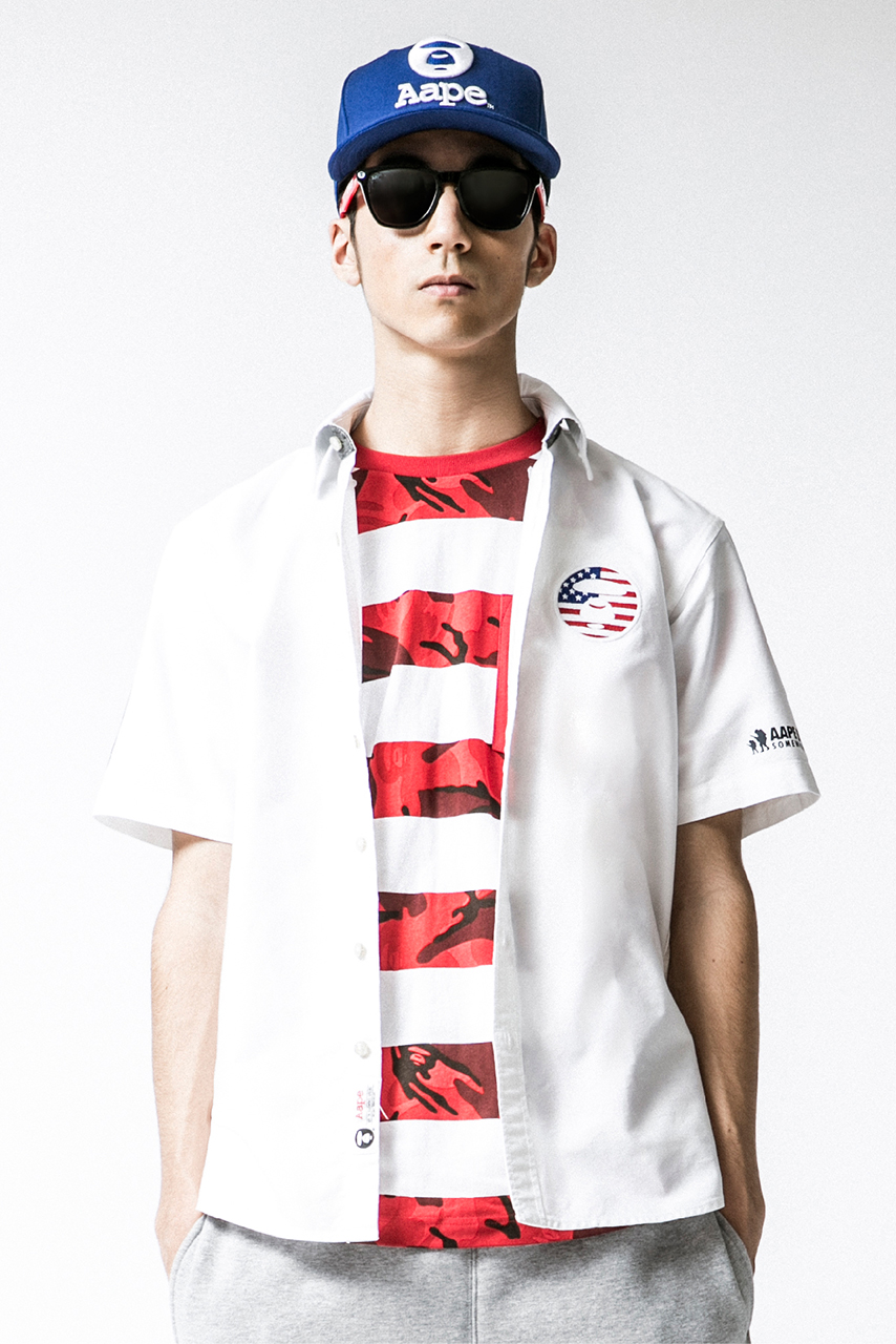 aape by a bathing ape 2014 summer lookbook