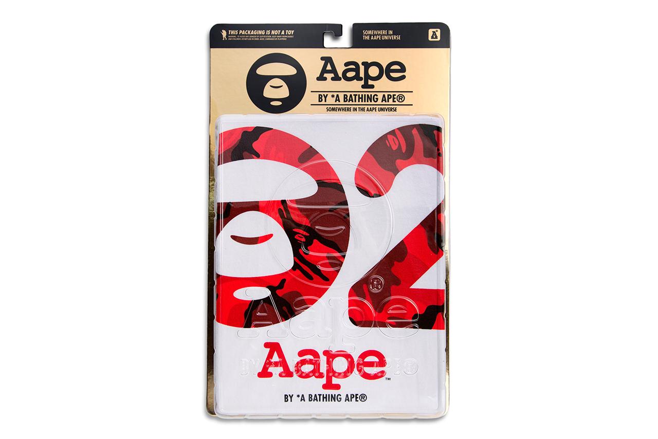AAPE by A Bathing Ape 2nd Anniversary Print T-Shirt